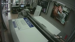 Business security camera system installation