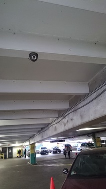 security camera for parking lot